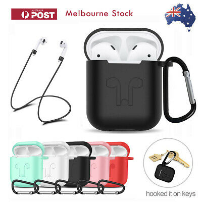AU6.99 • Buy For Apple Airpods Case Cover Skin Anti Lost Strap Anti Scratch Shockproof Holder