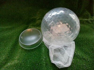 Giant Clear Golf Ball For Decoration And Display - Clear New Blank 170mm • 10.70£