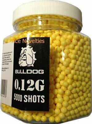 AU56.75 • Buy Bulldog High Pro Grade 6mm 0.12g Light Weight Yellow BB Pellets X 5000 Tub