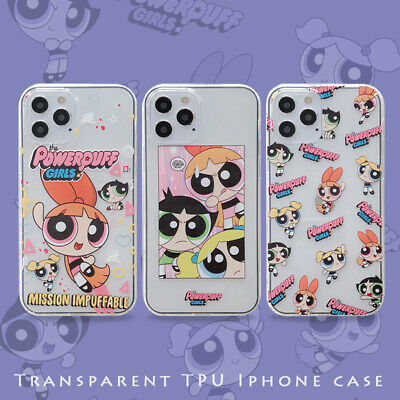 AU6.43 • Buy For IPhone 12 11 Pro Max XS XR 7 8+ Cute Cartoon Powerpuff Girls Shockproof Case