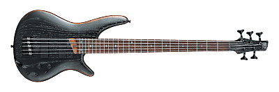 $ CDN1212.70 • Buy Ibanez SR675-SKF SR 5-string Electric Bass Guitar (Silver Wave Black Flat)