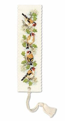£7.99 • Buy Goldfinches Bookmark Cross Stitch Kit (Textile Heritage)