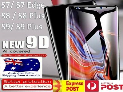 $ CDN5.74 • Buy 9D Samsung Galaxy Note 20 Ultra 9 S10 S9 S8 S20 Tempered Glass Screen Protector