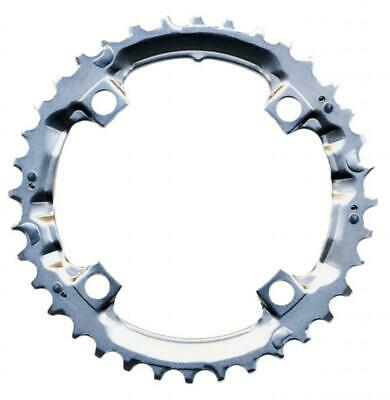 Shimano 36T Mega 9 Speed Chainring Deore FC-M510 M440 Silver Y1DS98200 104mm BCD • 13.98£