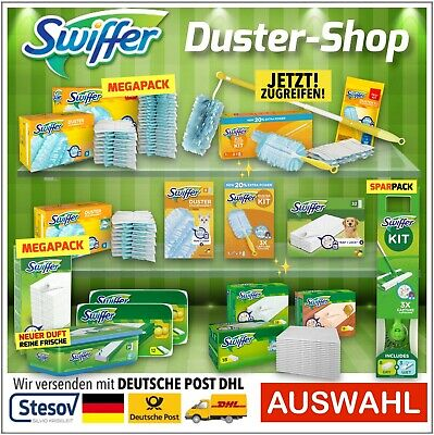 Swiffer Dust Magnet Floor Mop Starter Refill Pack Dry Wet Cloths • 38.90£