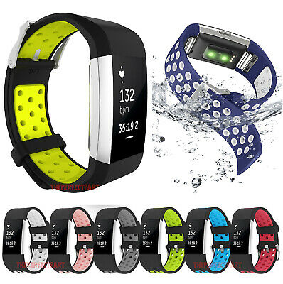 $ CDN6.80 • Buy Replacement Silicone Sports Strap Wrist Band Bracelet For Fitbit Charge 2 / 2 HR