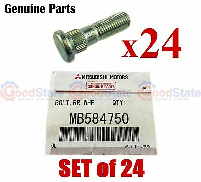 AU123.77 • Buy GENUINE Mitsubishi Triton MH MJ MK ML MN MQ MR Wheel Stud Set Of 24