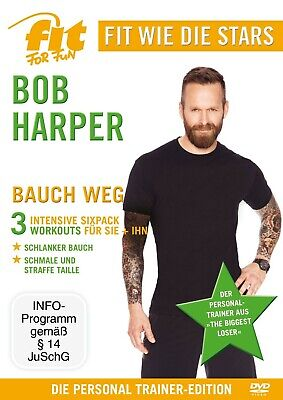 Bob Fit For Fun Stars-harper - Bauch Weg  Dvd New  • 37.98£