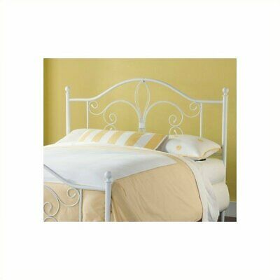 $109 • Buy Hillsdale Ruby Spindle Headboard In White-Twin