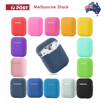 AU4.95 • Buy Shockproof For Apple AirPods Case Cover Skin Slim Silicone Anti Falling Scratch