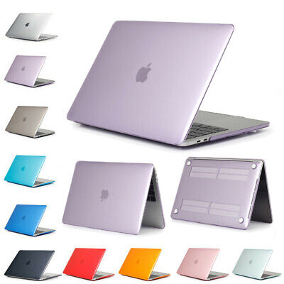 $8.90 • Buy Hard Case Shell For Macbook Air 13 /11 Pro 13 / 15 Retina 12 Clear Plastic Cover