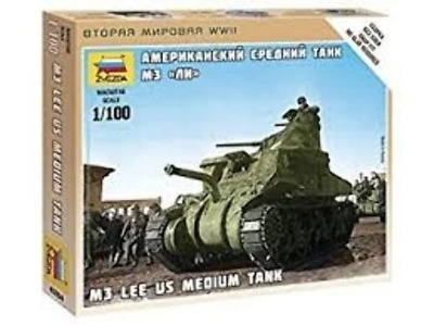 AU9.99 • Buy Zvezda 6264 1/100 M-3 Lee Plastic Model Kit