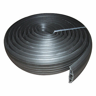 £19.68 • Buy 3m Black Rubber Floor Cable Protector 19 X 9.5mm Inner Channel 9ft [008506]