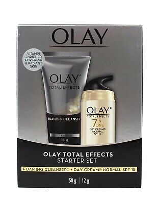 AU19.95 • Buy Olay Total Effects Start Set Foaming Cleanser + Day Cream Normal Spf 15