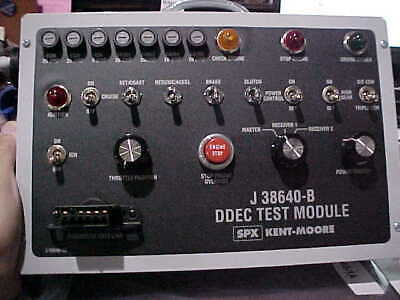 Kent-Moore J-38640-B DDEC II Module Diesel Engine Test Panel ECM Engine Out DYNO • 995.55$