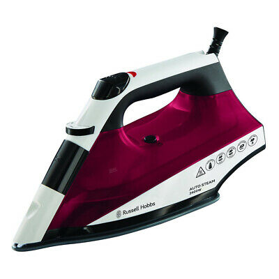 View Details Russell Hobbs RU-22520 Auto Steam Pro Non Stick Soleplate Iron 2400W - Multi • 15.95£