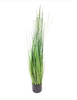 Onion Grass Plant Tree Artificial Realistic Foliage Potted Indoor Outdoor 113cm • 43.25£