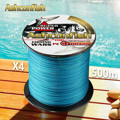 AU15.95 • Buy Strong 500M  PE Multifilament Braided Fishing Line 4 Strands Japanese Cord Line