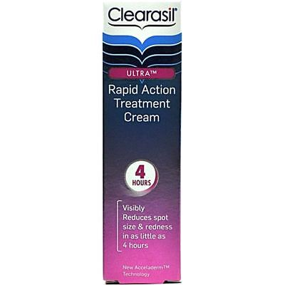 £2.44 • Buy Clearasil Ultra Rapid Action Treatment Cream 25ml USE BY DATE 07/2014 BOXED