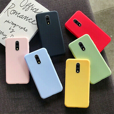 AU1.45 • Buy For OnePlus 7 Pro 6T 6 5T 5 Slim Soft Silicone Matte Skin TPU Back Case Cover