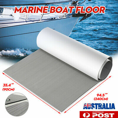 AU57.63 • Buy EVA Foam Boat Marine Flooring Mat Faux Teak Decking Yacht Car Sheet 90x240cmx6mm