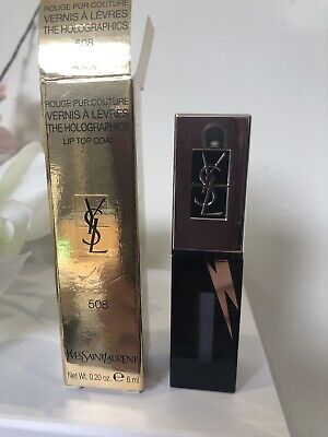 New YSL The Holographics Lip Top Coat 508 RRP £29 • 15£