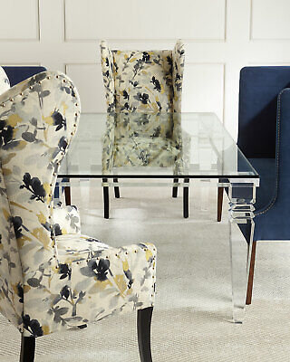 $6259 • Buy Interlude Home Christelle Acrylic & Glass Dining Table Horchow Neiman Marcus