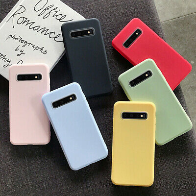 $ CDN2.90 • Buy For Samsung S10 S9 S8 S7 S6+ Note 9 Slim Soft Silicone Matte TPU Back Case Cover