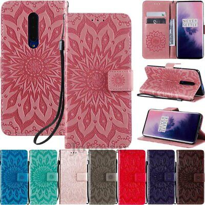 AU6.46 • Buy For OnePlus 7 Pro 6T 6 5T 5 Card Holder Magnetic Flip Leather Wallet Case Cover