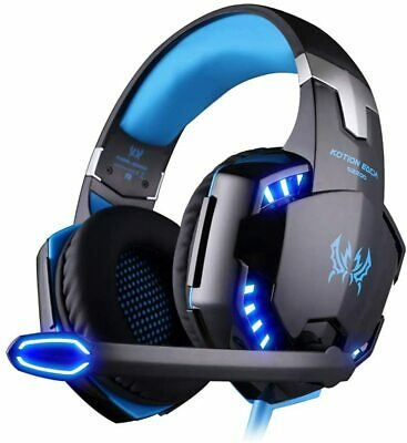 £14.95 • Buy Gaming Headset Headphones With Microphone LED For PC Laptop PS4 PS5 Xbox One UK
