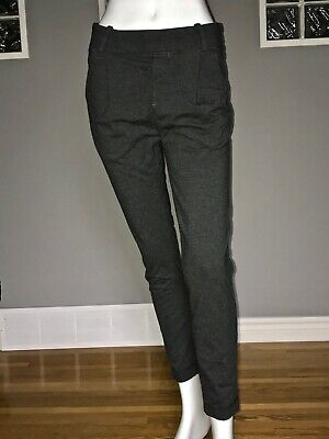 $ CDN60 • Buy Lululemon Stress Less Pant 4 Heathered Dark Gray Terry Trouser To And From