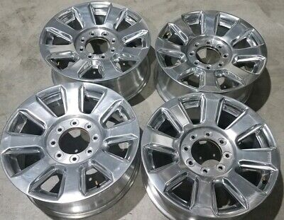 $899.95 • Buy Set Of 4 2017-2019 Ford F-250 F-350 Wheel 10103 Polished 20  Rim OEM HC3Z1007K