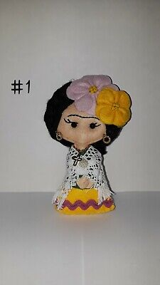 $15 • Buy Frida Kahlo Handmade Bag Keychain Handmade Craft Bag