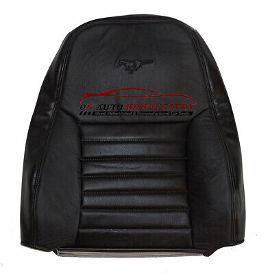 $199.99 • Buy 2002 Mustang GT Driver Lean Back PERFORATED Replacement Leather Seat Cover Black