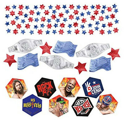 WWE Happy BIRTHDAY Party Supplies  Table CONFETTI 1 Pack W/3 Types Wrestling • 2.35£