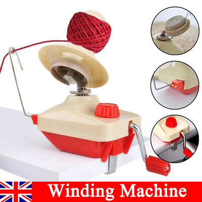 Swift Yarn Fiber String Ball Wool Winder Holder Hand Operated Winding Machine UK • 12.99£