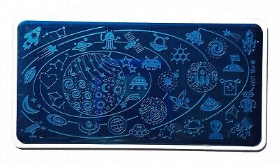 $6.99 • Buy Nail Art Stamping Outer Space Star Moon Theme DIY Manicure Image Plate L039