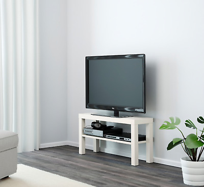 Ikea Lack TV Bench  White ,TV STAND FOR PLASMA, LCD, LED TV  • 18.45£