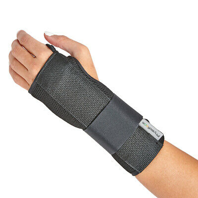 Breathable Hand Wrist Brace Support With Stabilising Splint - Carpal Tunnel RSI • 12.69£