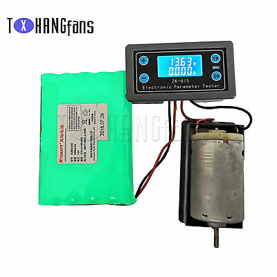 £4.67 • Buy Multifunction Voltage Current Meter Power Capacity Time Battery Charge Put ATF