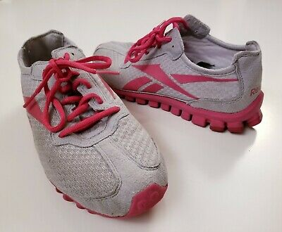 the latest 26486 87e25 Reebok Realflex Run Womens Size 7 Gray Pink Training Running Shoes Sneakers  • 18.95