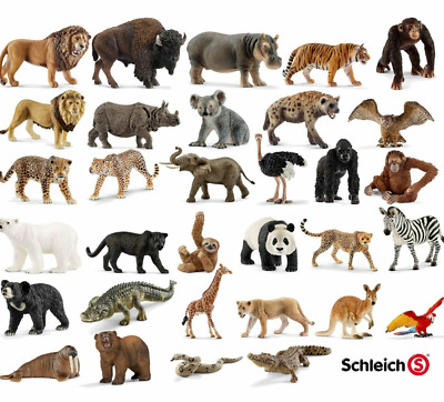 £8.99 • Buy Schleich Animals Wildlife Zoo Realistic Plastic Action Figure Kids Toy Xmas Gift