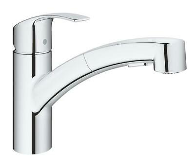 GROHE 30305000 Eurosmart Pull Out Single-lever Sink Mixer Kitchen Tap  • 110£