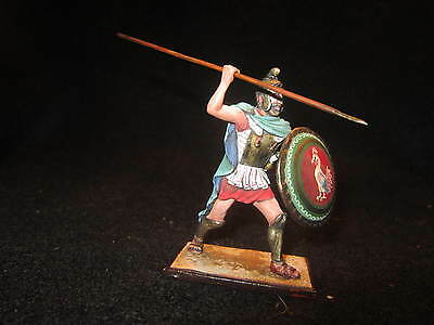 $74.99 • Buy St. Petersburg. Amber. Greek In Green Cape W/Spear And Shield. 54mm