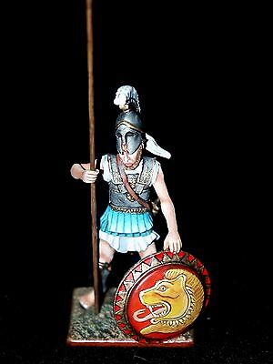 $74.99 • Buy St. Petersburg. Amber Greek Hoplite W/Long Spear & Shield 54mm