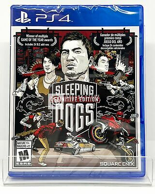 £17.74 • Buy Sleeping Dogs Definitive Edition - PS4 - Brand New | Factory Sealed
