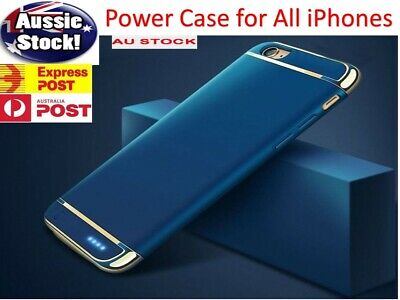 AU34.98 • Buy Ultra-Thin Battery Power Charger Charging Case Cover IPhone 11 7 8 6s 6 X XS Max