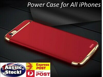 AU34.45 • Buy Battery Power Bank Charger Case Charging Cover IPhone 6 6s 7 8 Plus X 11 Pro Max