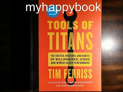 AU297.28 • Buy SIGNED Tools Of Titans By Timothy Ferris, Autographed, New