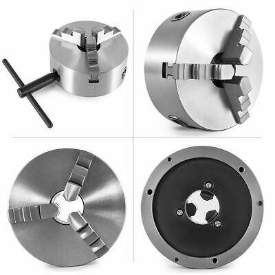 AU115.99 • Buy Lathe Chuck 80/100/125/130/160/200/250mm 3Jaw Self-Centering Jaw K11 Tool